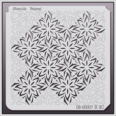 08-00007 R SC, Wall Stencils, 08-00007-R - iStencils.com