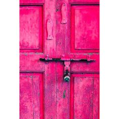 pink door | Tumblr ❤ liked on Polyvore featuring backgrounds, pictures, pink, doors and photos