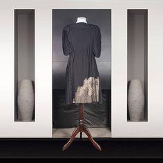 Geny from Dubaï Jay Ahr, Backless, High Neck Dress, Dresses, Fashion, Women's Knee Length Dresses, Jersey Knit Dress, Lace, Black People