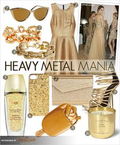 The gold standard has been set for summer and, like true golden girls, we're craving hits of shine from molten accessories that inject a touch of the majestic into every day. In our quest for gold