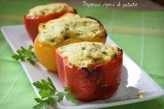 Peperoni ripieni di patate - Ricette Blogger Riunite