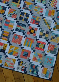 Summer Blockbuster: Finishing the Quilt Top