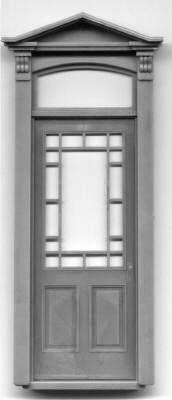 Architecture of Tiny Distinction: Fairfield Dollhouse
