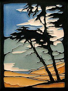 Decorative Motifs -monterey cypress