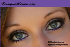 Beautiful eyes & long lashes from Younique 3D mascara and mineral pigments.  http://www.NotJustMascara.com