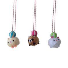 Ltd. Pop Cutie Pom Pom Pet Necklaces | POP CUTIE accessories