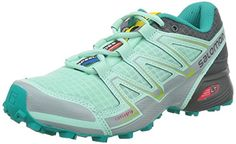 new product fb3ac 64999 Salomon Women s Speedcross Vario W Trail Running Shoe, Igloo Blue Dark  Cloud Light Onix, B US