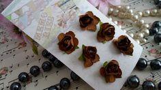 Flor de papel para artesanato