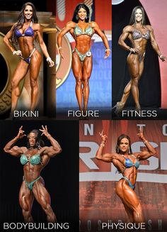 Which division is right for you? Bikini, figure, fitness, women's physique, or bodybuilding? Find out the differences here. If you getting ready for a bikini competition or figure competition, you have to check this out first.