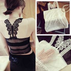 Sexy-Women-Lace-Wrapped-Chest-Strap-Sleeveless-Shirt-Vest-Blouse-Tank-Crop-Tops