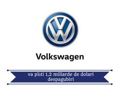 Volkswagen a anunțat miercuri că va plăti cel puțin 1,2 miliarde de dolari, sub formă de răscumpărări și despăgubiri, pentru 78.000 de clienți americani