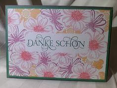Maskentechnik; Flower Shop; Stampin Up; Anleitung