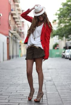 #Cute!  Spring outfit #fashion #Springoutfit  #nice   www.2dayslook.nl