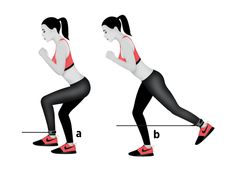 The Best Workout for a Toned, Tight Butt : Sprinter Kickback 30 Day Fitness, Fitness Tips, Fitness Motivation, Plyometric Workout, Plyometrics, Lower Ab Workouts, Fun Workouts, Body Workouts, Lose Lower Belly Fat