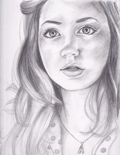 """""""The Girl Who Waited"""" charcoal drawing by petrichor-pandorica on tumblr"""