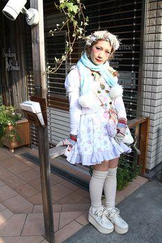 Street Snaps@Street of Harajyuku, Tokyo Fashionsnap.com   Fashionsnap.com