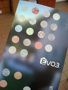 The cover of the EVO3 color card https://www.facebook.com/pages/EVO3/523420044380035