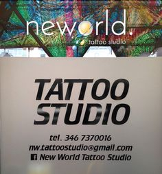 World Tattoo, Tattoos Gallery, Tattoo Studio, World Map Tattoos