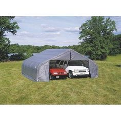 ShelterLogic 22Ft.W Peak Style Instant Garage   20ft.L X 22ft.W