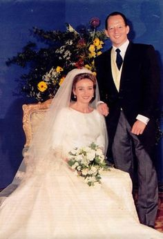 11 July 1996 -  The Crown Prince Kardam of Bulgaria, Prince of Tarnovo, son of King Siméon and Queen Margarita of Bulgaria married in the Orthodox Church of Madrid to Miriam Ungria López