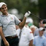 Edoardo Molinari - Player in the 2012 Masters Golf Tournament