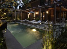 Uptown Residence - modern - pool - chicago - by The Garden Consultants, Inc.