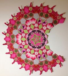 "Lilabelle Lane: Holding my attention - ""La Passacaglia Quilt"""
