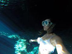 Roberta Mancino with a great GoPro shot beneath the ocean wearing the Surf Siren bikini Surf Companies, Surf Outfit, Rip Curl, Men And Women, Gopro, Surfing, Ocean, Beach, Bikinis