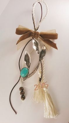 Christmas Fun, Xmas, Handmade Keychains, Diy Home Crafts, Crochet Flowers, Charms, Angels, Pendant Necklace, Jewelry