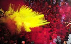 Holi 2013 – Beautiful pictures of the Festival of Colors -- the mythical Hindu festival of colors that takes place in India every year to celebrate spring (