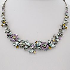 Sorrelli Jewelry Running Water Collection. A gorgeous collection of soft pastel crystal necklaces in contemporary to vintage styles. Find your Sorrelli styles at Perfect Details.