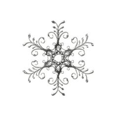 snow flakes ❤ liked on Polyvore: