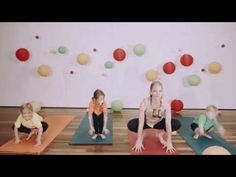 Light Up Little Lights Kids Yoga DVD Jungle Animals Sun Salutes - YouTube
