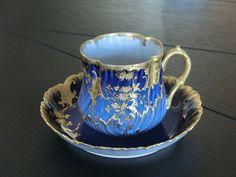 Limoges France 1908 . . .Demitasse cup and saucer . . .