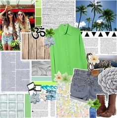 """""""26. surrff sea and sand."""" by izzzz-khalifa ❤ liked on Polyvore"""