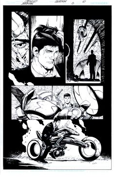 Young Bruce - Pencil by Greg Capullo & Ink by Jonathan Glapion