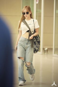Taeyeon 190904 Incheon Airport from Czech Republic<br> Taeyeon Fashion, Fashion Idol, Tokyo Fashion, Kpop Fashion, Curvy Fashion, Girl Fashion, Fashion Outfits, Petite Fashion, Style Fashion