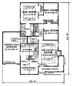 77 best floor plans images floor plans house floor plans small Hotels with Jacuzzi in Room floor plan image of plan thd wdf 1560 cozy fireplace garage plans