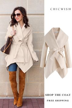 Free Shipping & Easy Return. Up to 30% Off. Prairie Rabato Coat in Cream featured by @lipglossandlabels. Also Available in 7 colors. Holiday coat. Holiday outfit ideas. Holiday Outfits, Casual Outfits, Cute Outfits, Fashion Outfits, Fall Winter Outfits, Womens Fashion, Style Décontracté, Girl Style, Led Dress