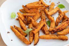 Zelené fazuľky s tofu a feta syrom Carrots, Food And Drink, Low Carb, Homemade, Vegetables, Vegan, Baking, Healthy, Gardening