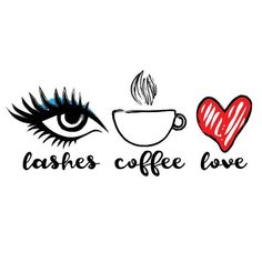 The perfect way to start this week! SlashBeauty lashes do make everything bette Makeup Lash Quotes, Makeup Quotes, Beauty Quotes, Coffee Lover Gifts, Gift For Lover, Images Esthétiques, Makeup Illustration, Lashes Logo, Mink Eyelashes