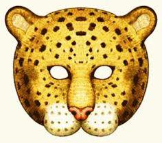 Printable leopard mask printable masks for kids pinterest masks animal masks and - Image leopard a imprimer ...