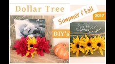 Dollar Tree DIY | Fall Decor 2017