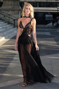 Rosie Huntington-Whiteley in Atelier Versace, 2015