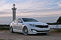 kia optima | My Kia Optima w/ Fusion Design HeadlightsFusionDesignLighting.com