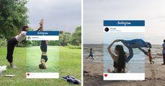 Chaque jour, des milliers de personnes sur Instagram prennent des photos pour s'inventer une nouvelle identité.