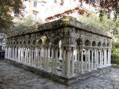 GENOVA - Particolare della casa di Cristoforo Colombo