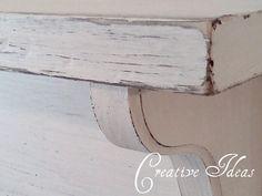 How to make a simple mantel shelf ~ Creative Ideas