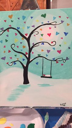 Canvas painting #beginner                                                                                                                                                      More