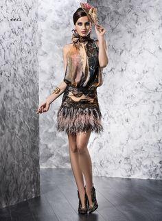 4451 - Vestido de Fiesta - Valerio Luna